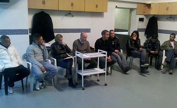 Los medio partidarios fuimos convocados por la subcomision para informar sobre lo que se esta haciendo en relacion al futbol.