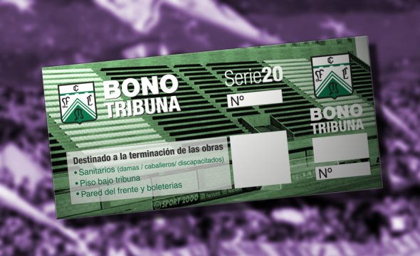 Bono obligatorio para los partidos de local