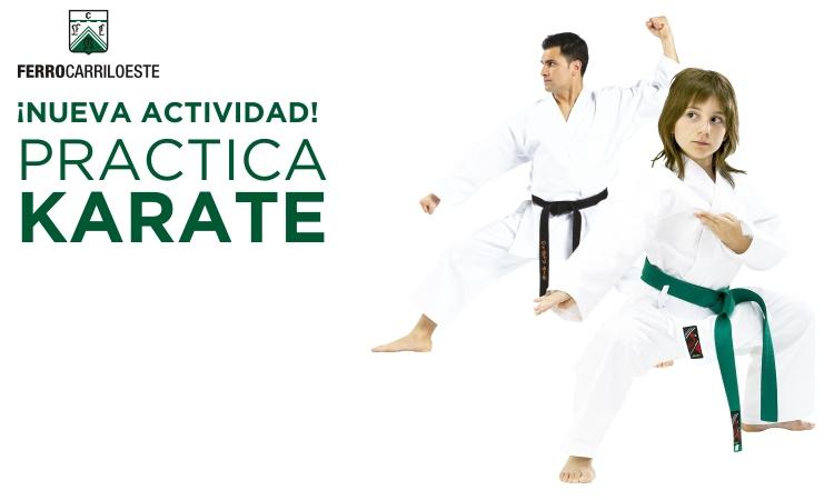 Ahora también hay Karate