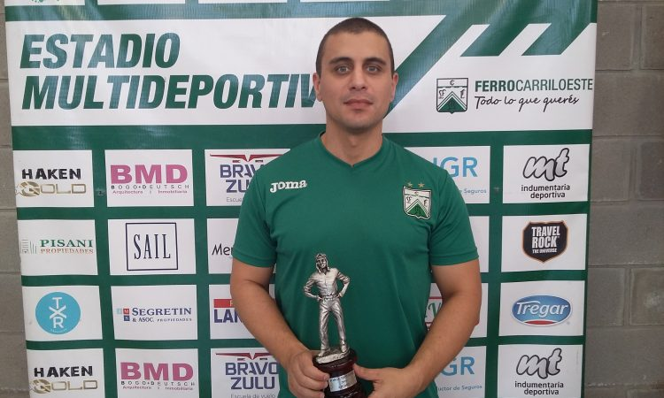 Liascovich ganador del Jorge Newbery