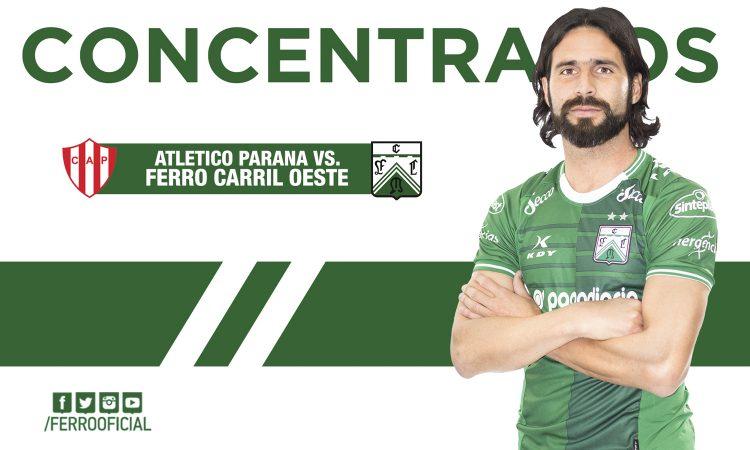 Concentrados ante Atlético Paraná