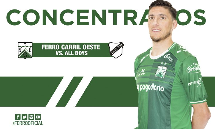 Concentrados ante All Boys