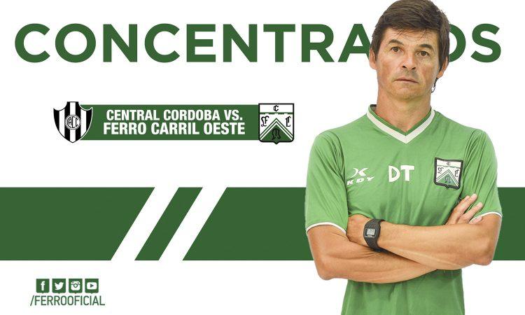 Concentrados ante Central Córdoba