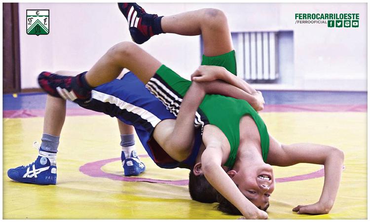 Lucha olímpica para niños