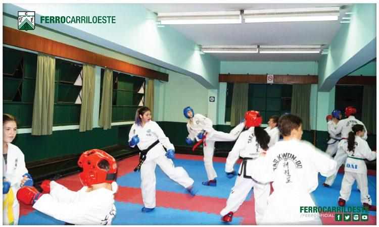 Entrená taekwondo