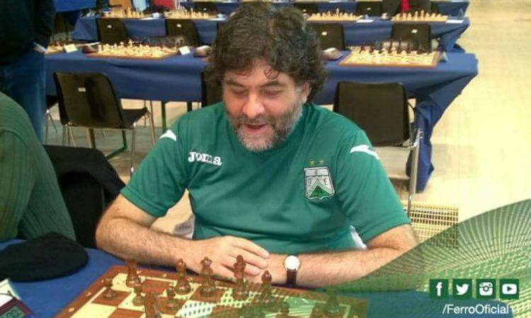 Ernesto Juliá subcampeón argentino