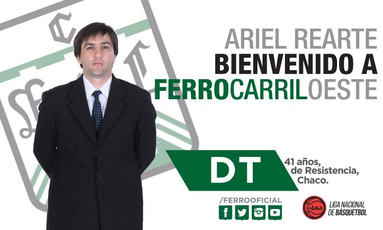 Ariel Rearte nuevo entrenador