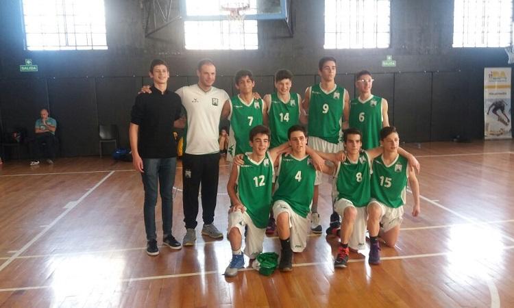 Los U15 al Torneo Evita