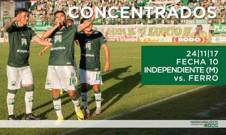Citados ante Independiente