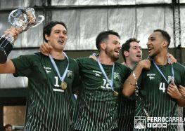 La Copa Metropolitana se quedó en Ferro