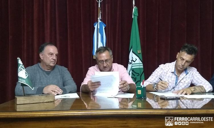 Garré y Saccardi secretarios técnicos