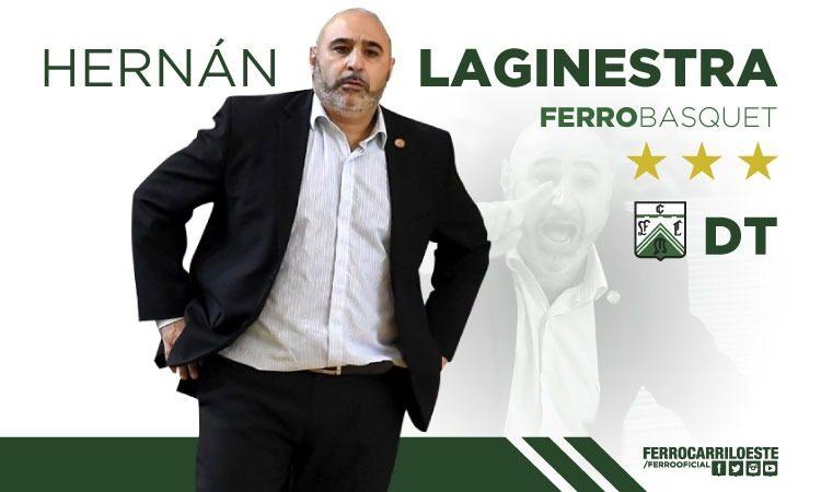Renovó Hernán Laginestra