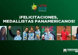 ¡Ocho medallistas!