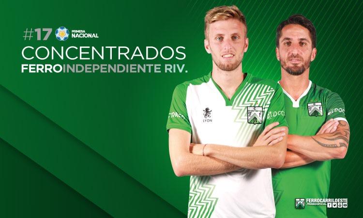 Los 19 frente a Independiente