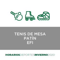 Tenis de mesa   Patin   EFI