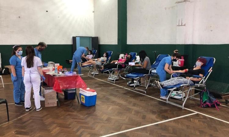 Gran éxito de la campaña de donación de sangre