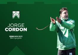 Jorge Cordon será Coordinador de Inferiores