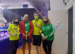 Gran performance del Tenis de Mesa en Rosario