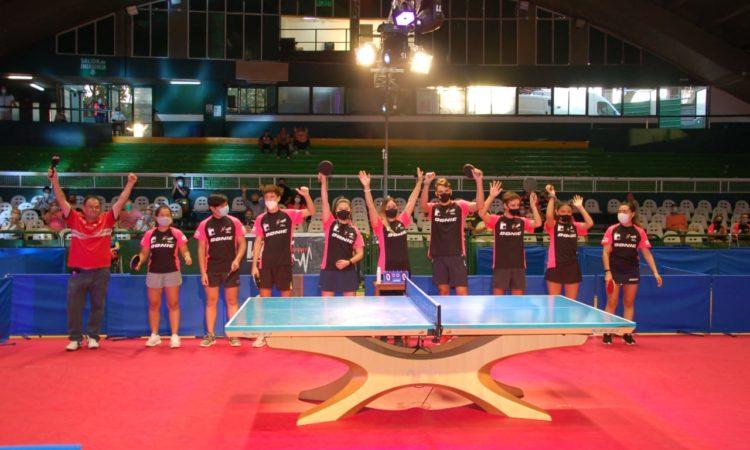 Se celebró en Ferro el Día Mundial del Tenis de Mesa
