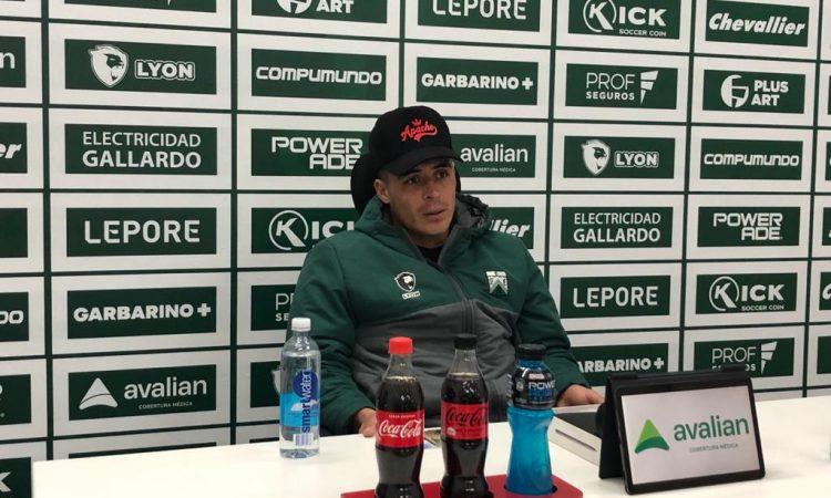 """Brian Fernández: """"Para mí, hacer goles es una obligación"""""""